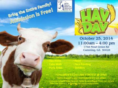 Annual Hay Day Event to Benefit Save the Horses
