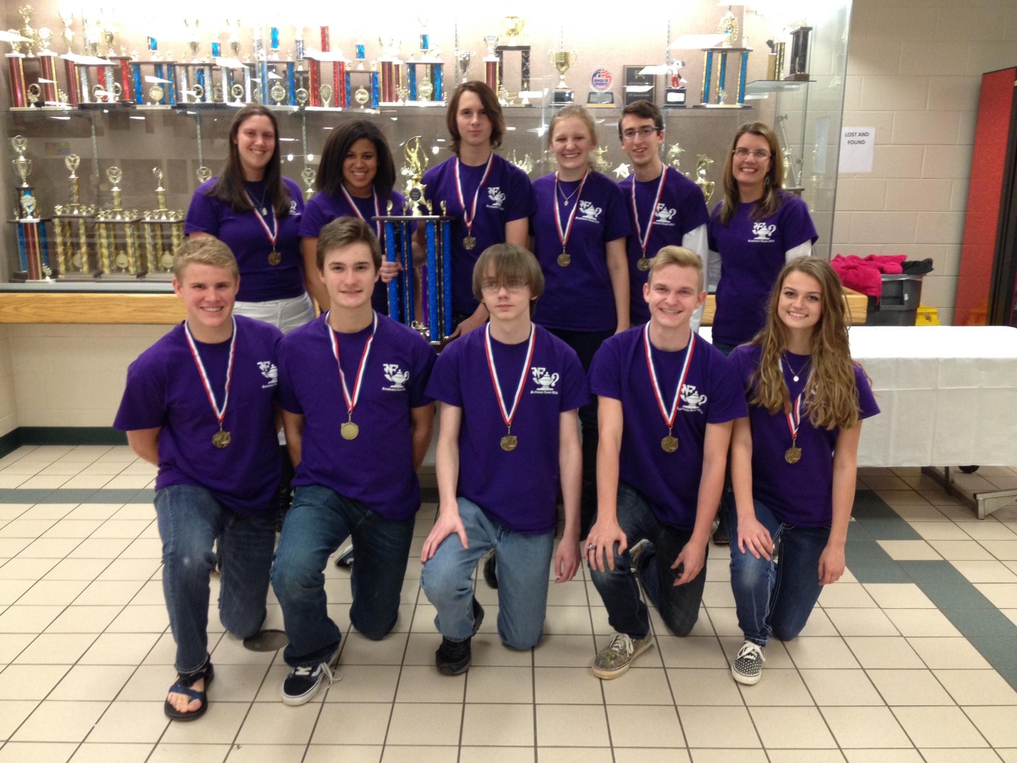 NFHS Varsity Academic Team Wins Regional