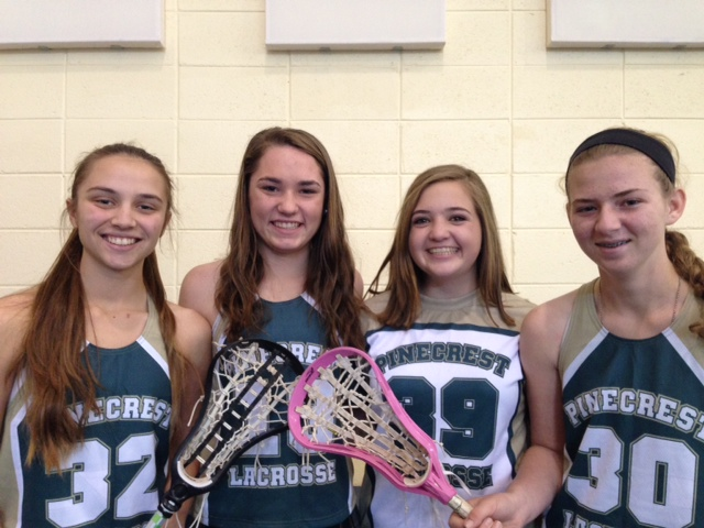 Pinecrest Varsity Girls Lacrosse Players Selected for Lacrosse Showcase
