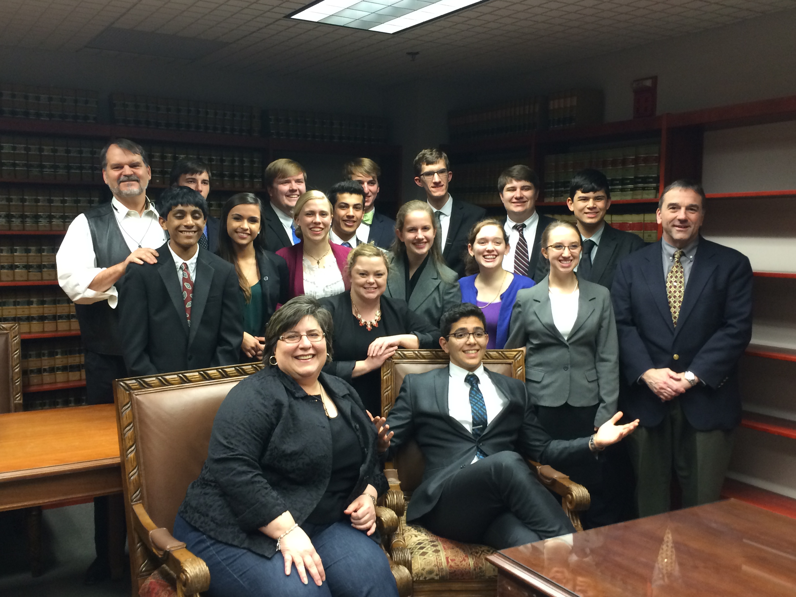 Pinecrest Academy Named Regional Champions by Mock Trial Judges