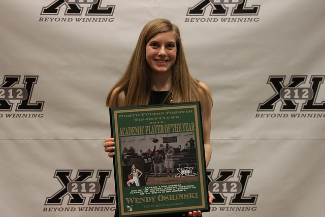 Pinecrest's Oshinski Named Female Academic Player of the Year