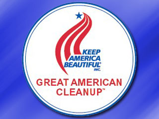 Be a Part of the Great American Cleanup April 25