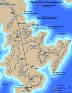 shady grove map