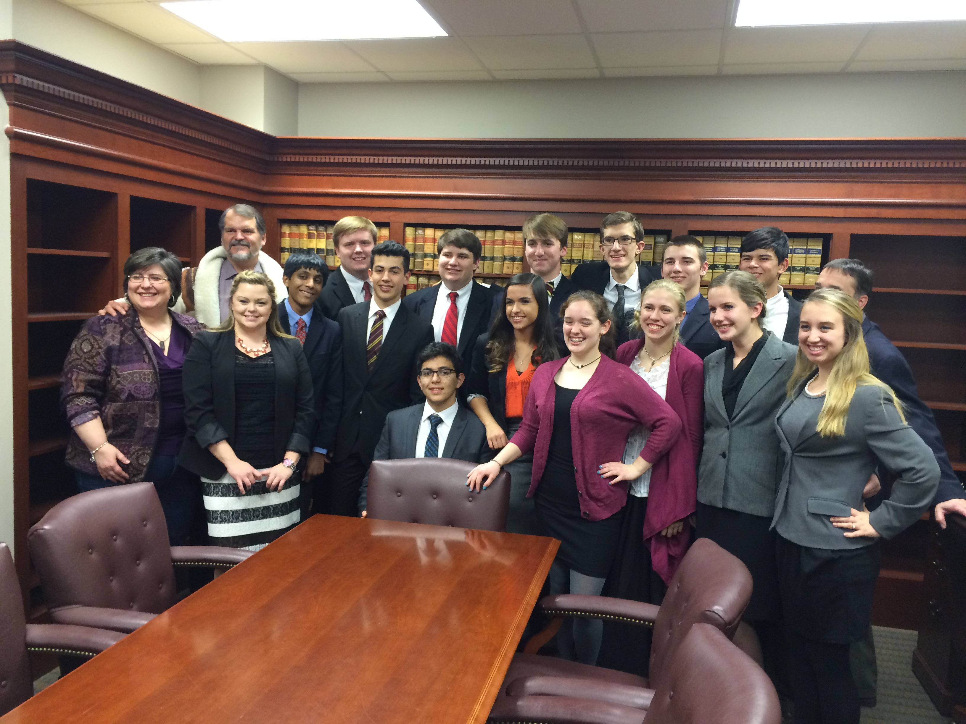 Pinecrest Academy Mock Trial Team Makes it to State