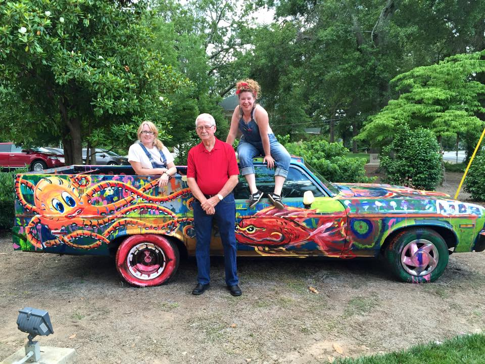 The Quinlan ARTCAR ongoing through August 15