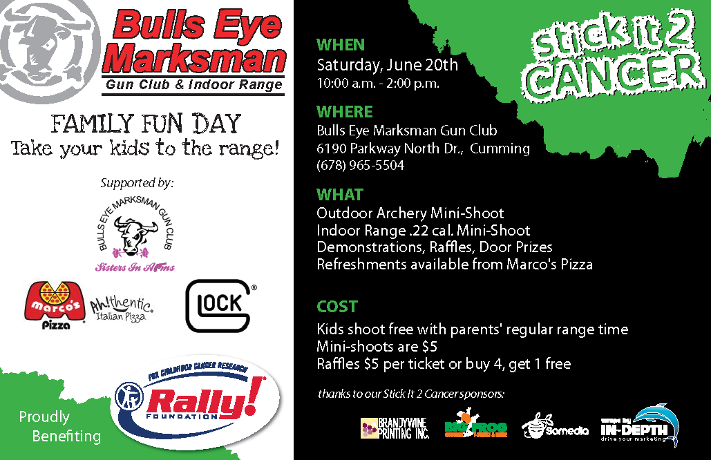 Family Fun Day at the Range to Benefit Childhood Cancer Research
