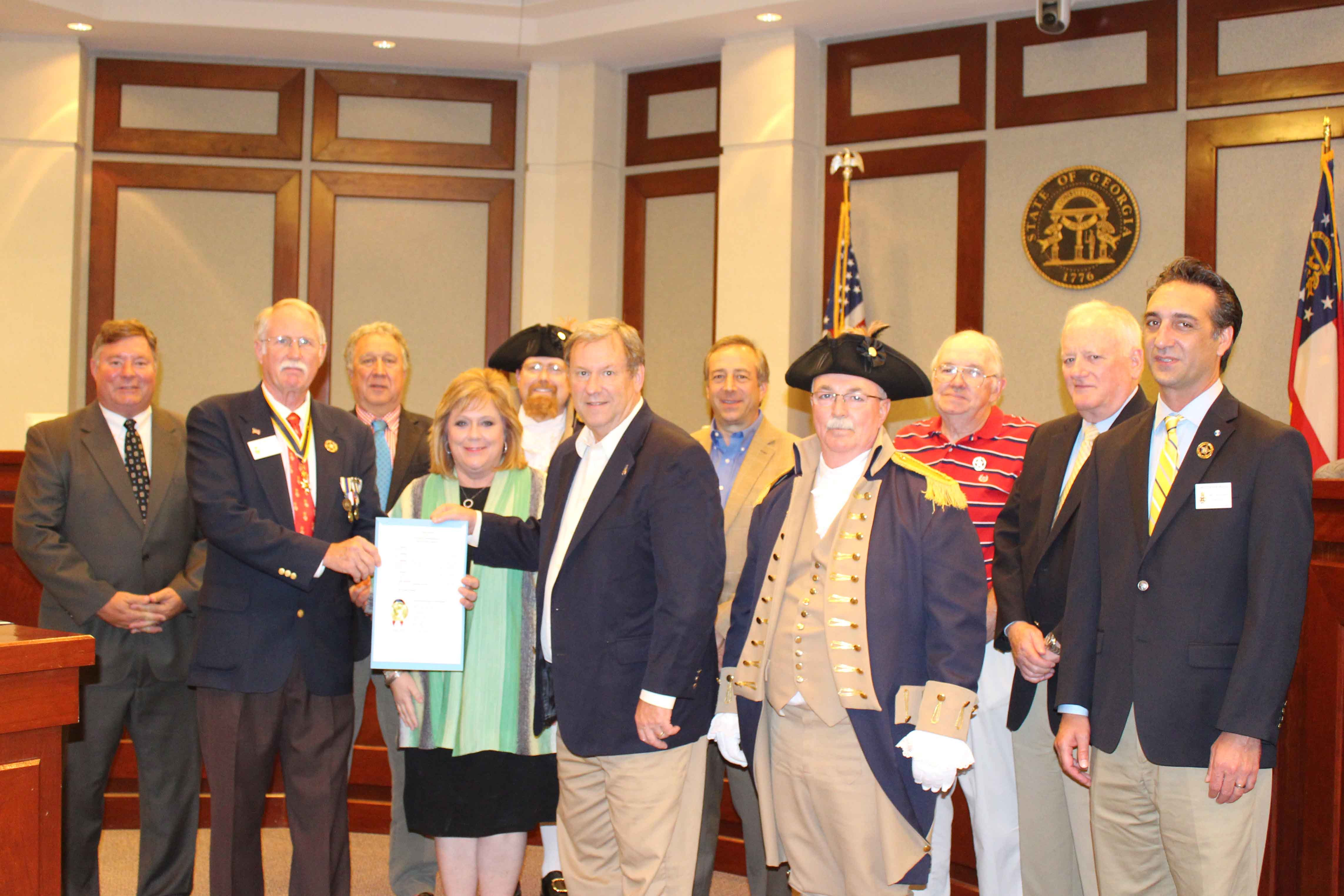June 14 Recognized as National Flag Day in Forsyth