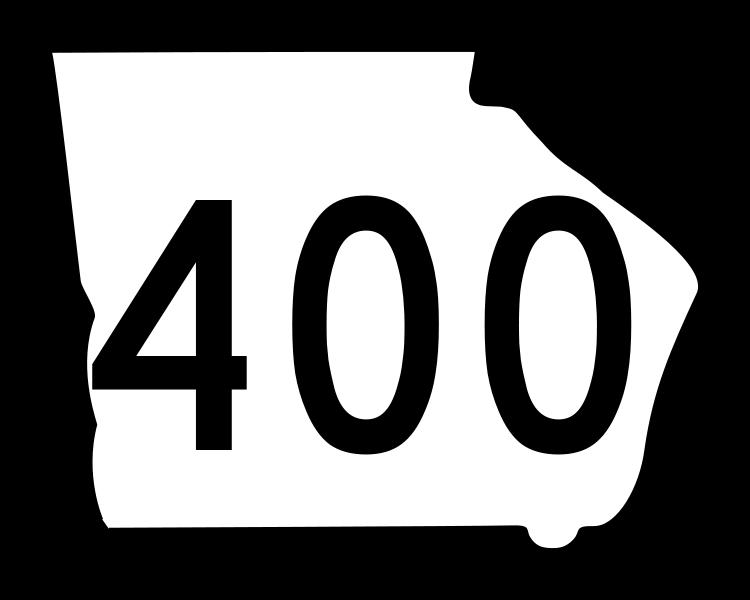 Georgia 400 Flex Shoulder Lanes Open Monday