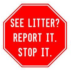 The New Forsyth County Litter Control Hotline